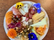 My cheese plate.