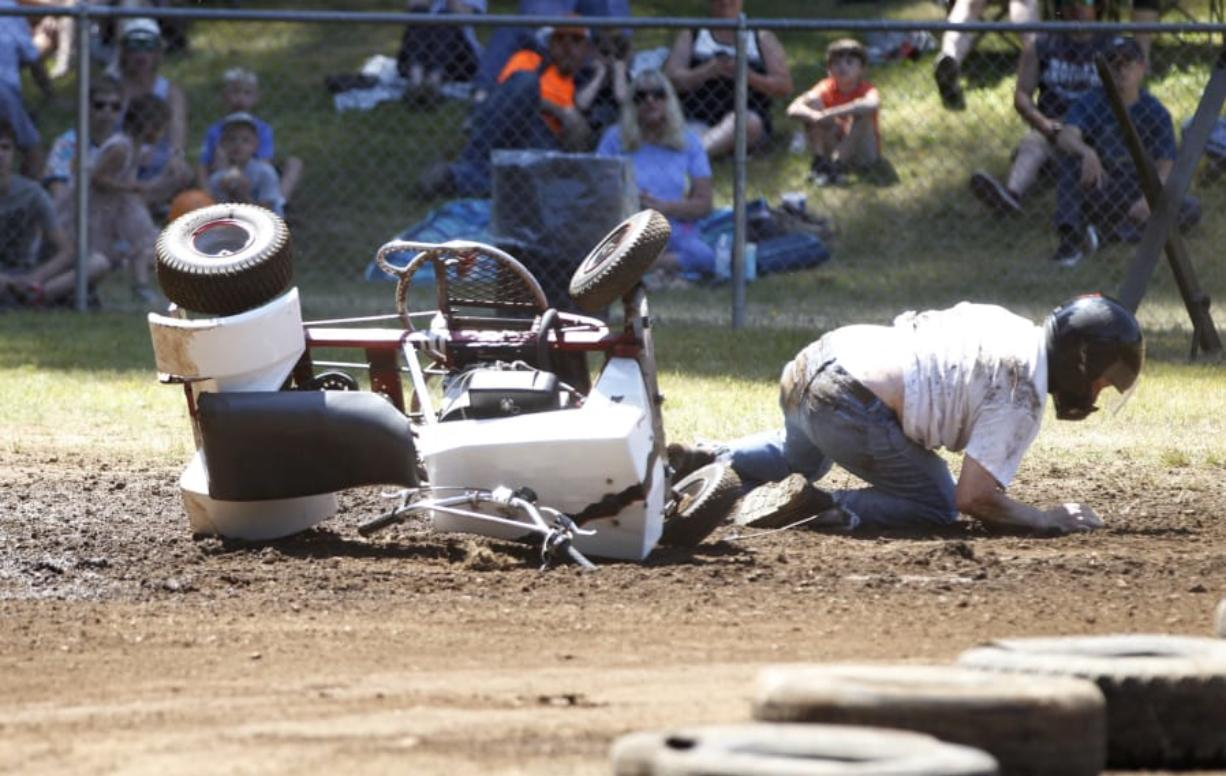 Lawn Mower Races Unpredictable By Design The Columbian