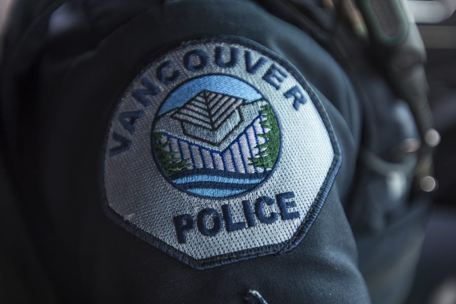 The Vancouver Police Department patch.