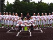 2019 Primetime Baseball, 16-18 Babe Ruth team from Clark County.