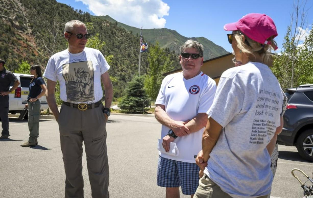 Victims honored on 25th anniversary of deadly Colorado fire