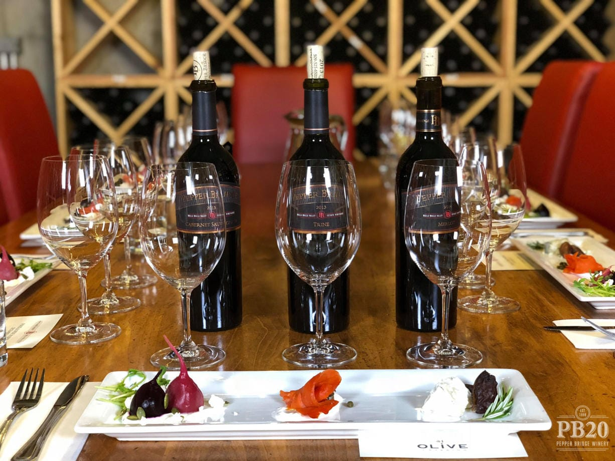 Pepper Bridge Winery and Amavi Cellars from Walla Walla announced plans for a tasting room at the Waterfront Vancouver development in the Rediviva building.