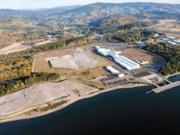 The Port of Kalama is the No. 3 port on the West Coast for the export of bulk cargo.