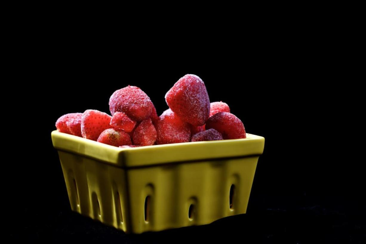 Frozen fruits and vegetables can carry foodborne illnesses.