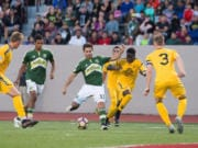 Timur Zhividze (33), playing for Timbers U23 squad, has been given a chance to play professionally with the Philadelphia Fury.