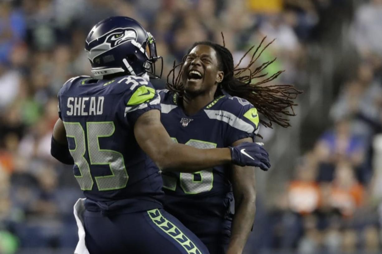 cheap for discount 566c0 bd0e5 Seahawks' Shaquem Griffin enjoys having focus on football ...