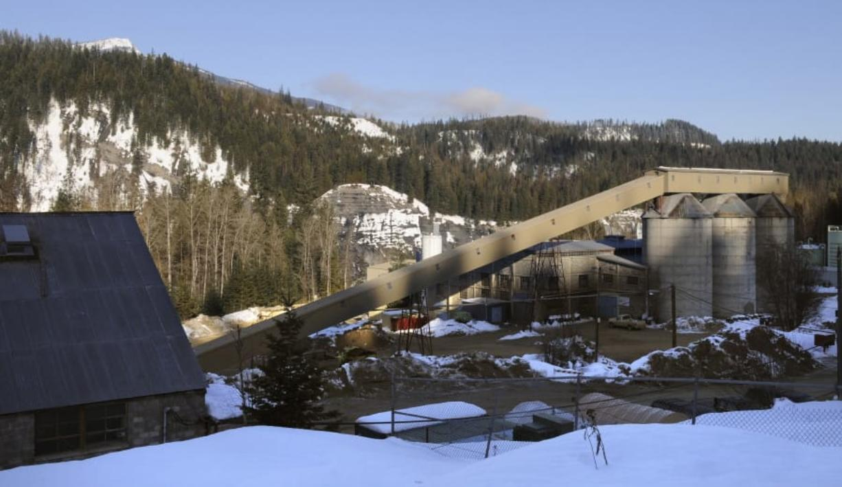 The Pend Oreille Mine is seen in January 2009, in Metaline Falls. The Pend Oreille Mine closed on July 31, at a cost of about 200 jobs in an area of less than 1,000 residents.
