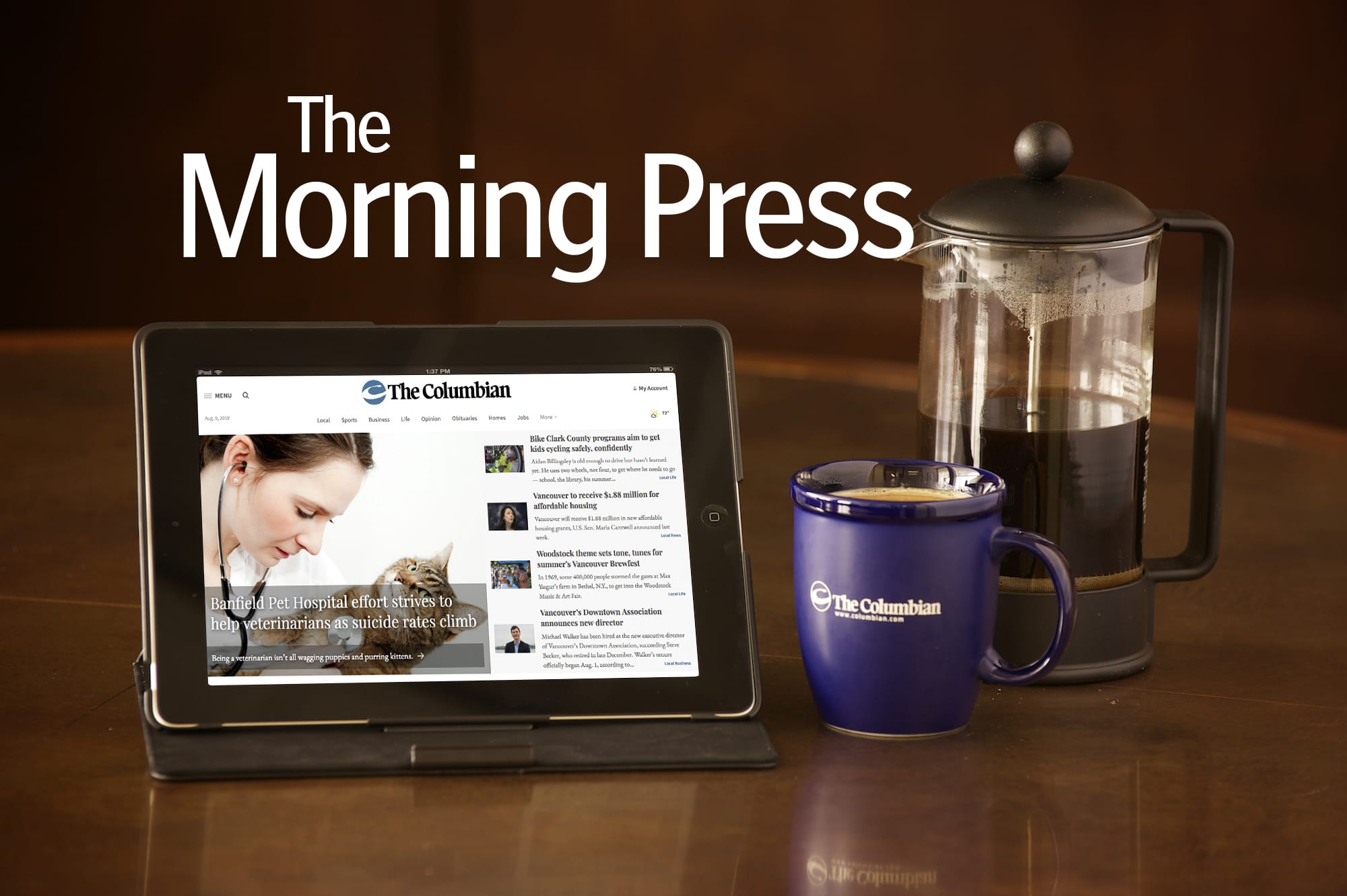 Morning Press: Mill Plain road work; Salvation Army store closes; Clark College contract