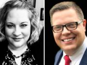 Shauna Walters and Neil Butler advanced from the primary to the general election in the Battle Ground City Council race.