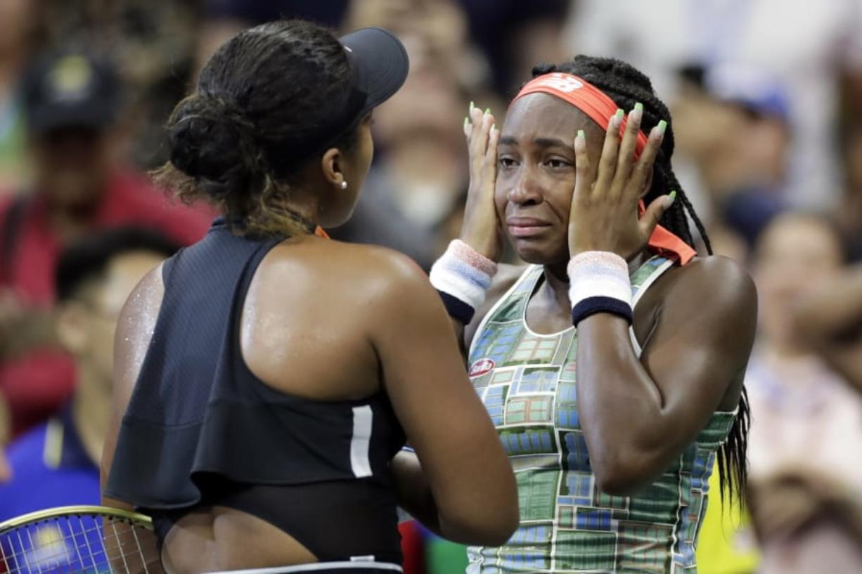 Gauff, 15, loses to 2018 champ Osaka at US Open