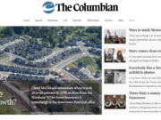 A sneak peek of the redesign coming to columbian.com on Tuesday.