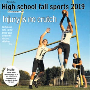 High school sports fall tab 2019