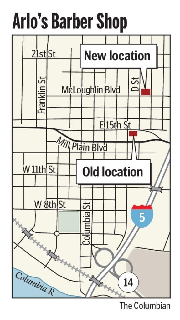 Arlo's Barber Shop's new Uptown site a cut above - Columbian com