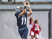 At 6-foot-5, Mark Morris receiver Jack Shipley is an inviting target. He caught 23 passes and five touchdowns last season.