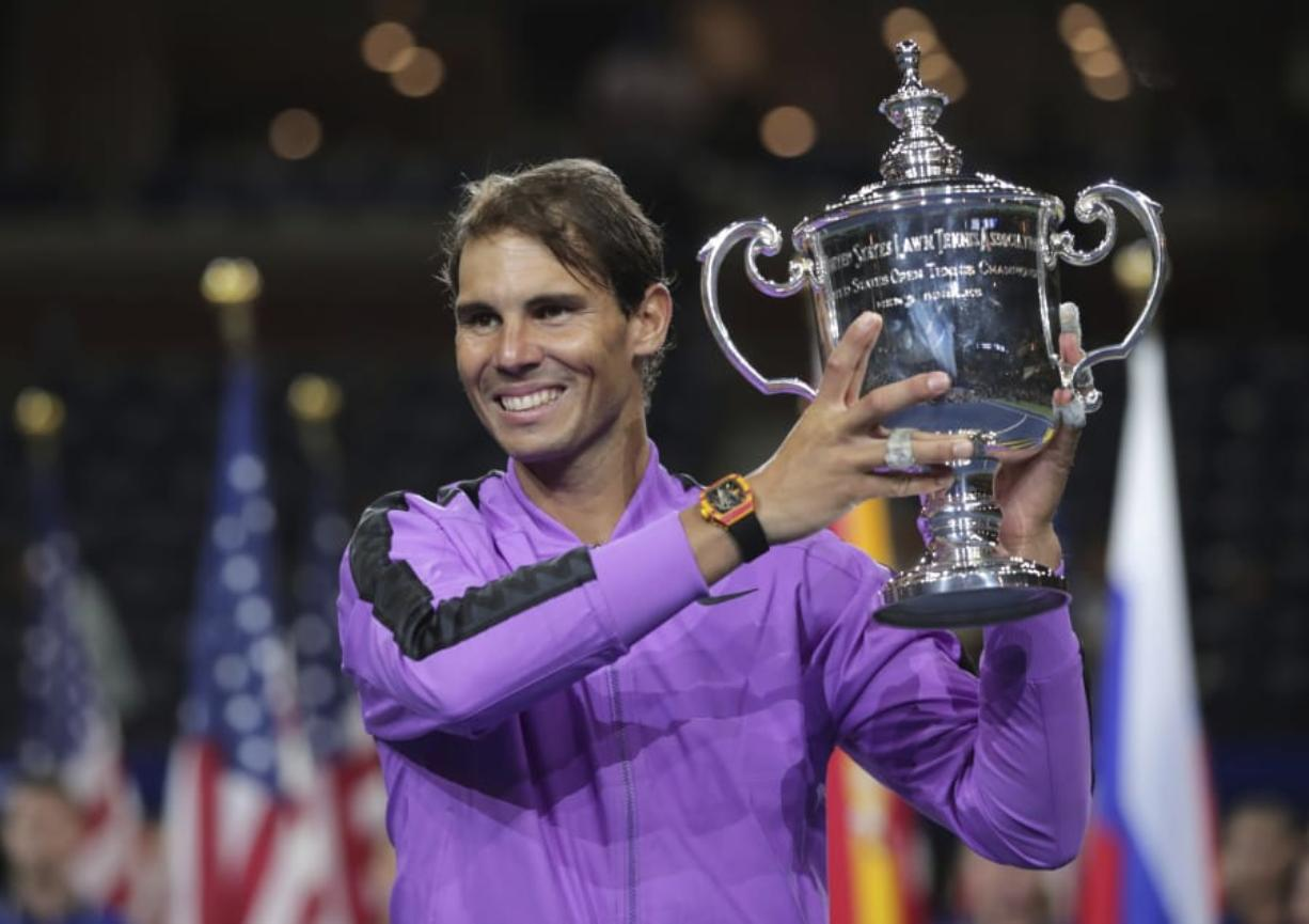 19th Slam For Nadal With His 4th Us Open Title Columbian Com