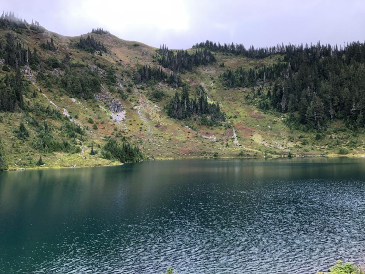At more than 4,500 feet, Hoh Lake takes some work to reach. But it's a gem of a section in Olympic National Park known for high-elevation lakes.
