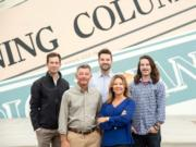 Aveum Images The Campbell family has owned The Columbian for nearly a century. Left to right: Will, Scott, Ben, Jody and Ross Campbell.