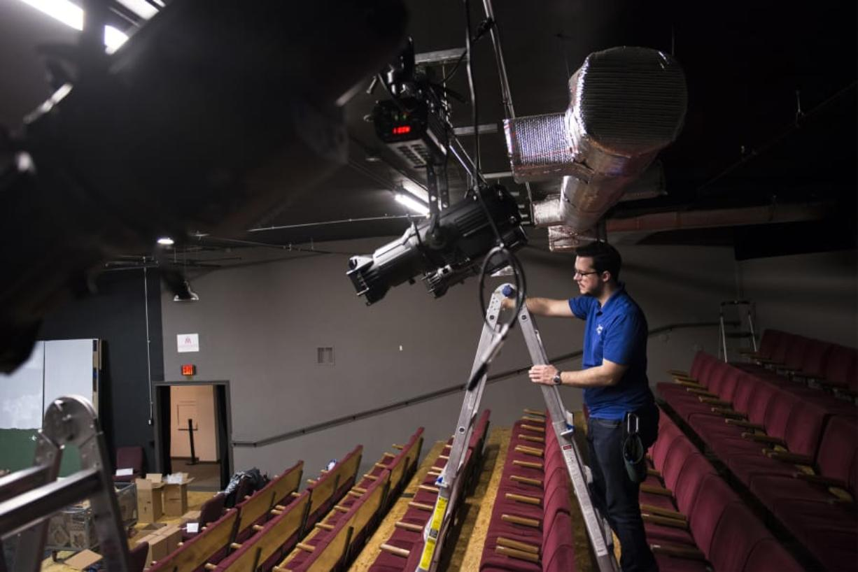 The 150-seat Magenta Theater auditorium on Main Street also doubles as a rental for musicians and dancers desperate to perform someplace in downtown Vancouver. Last year, the nonprofit theater won a grant that helped pay for a lighting upgrade.
