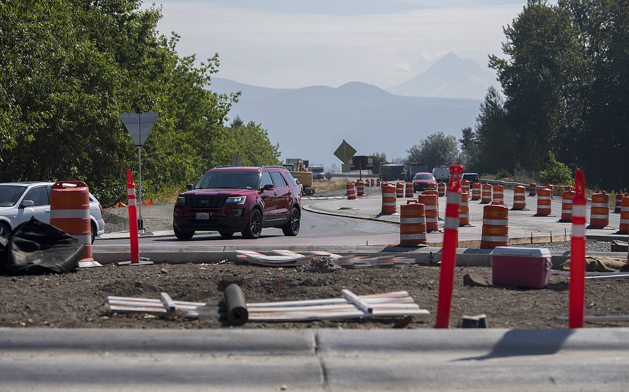 Expect Highway 14 delays near Washougal starting late Thursday night