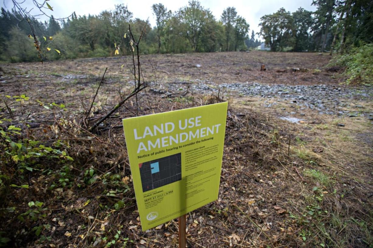 Residents of an unincorporated area near Ridgefield are concerned about the effects that a land-use amendment could have on water and traffic.
