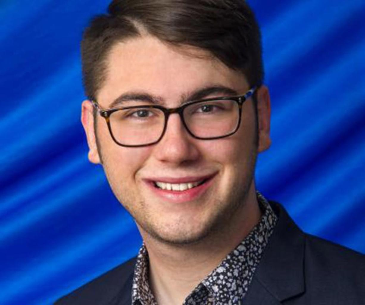 Vancouver School of Arts and Academics grad Hunter Stuehm will serve a one-year term as the student trustee at Western Washington University. (Contributed photo)