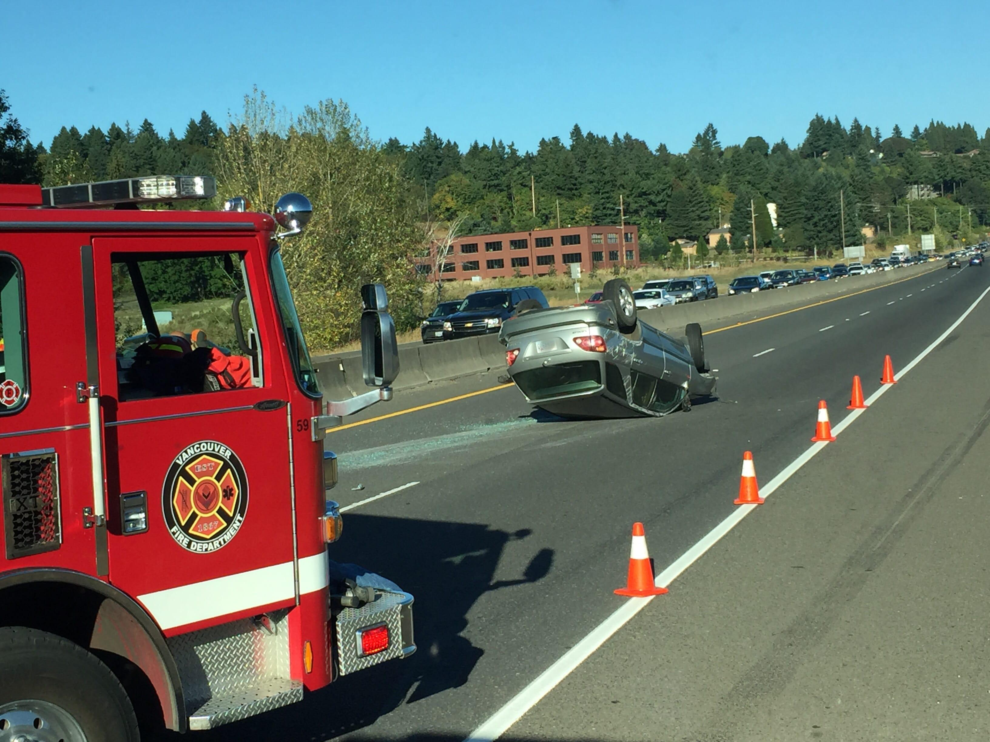 2 teens injured in Highway 14 crash - Columbian com