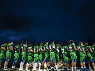 Heritage vs Mountain View Football