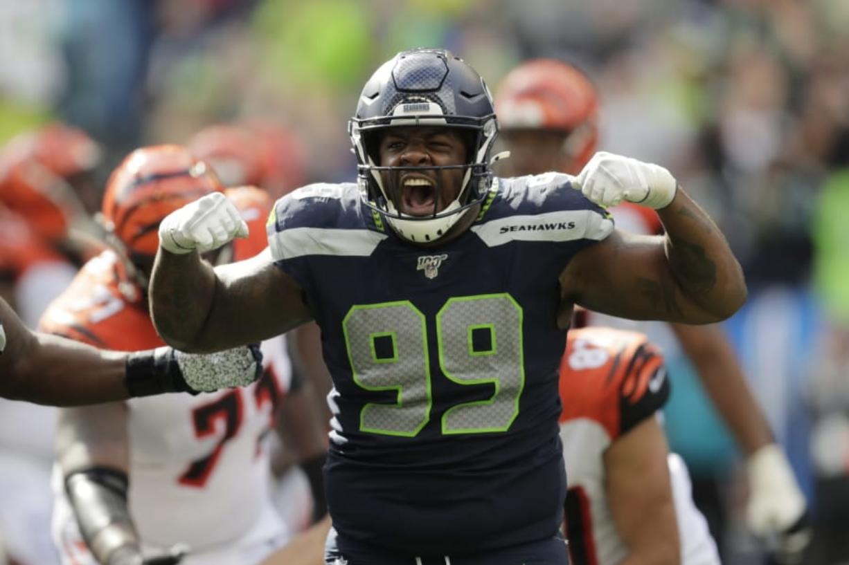 size 40 edc24 5c440 Seahawks hold off Bengals for 21-20 opening win - Columbian.com