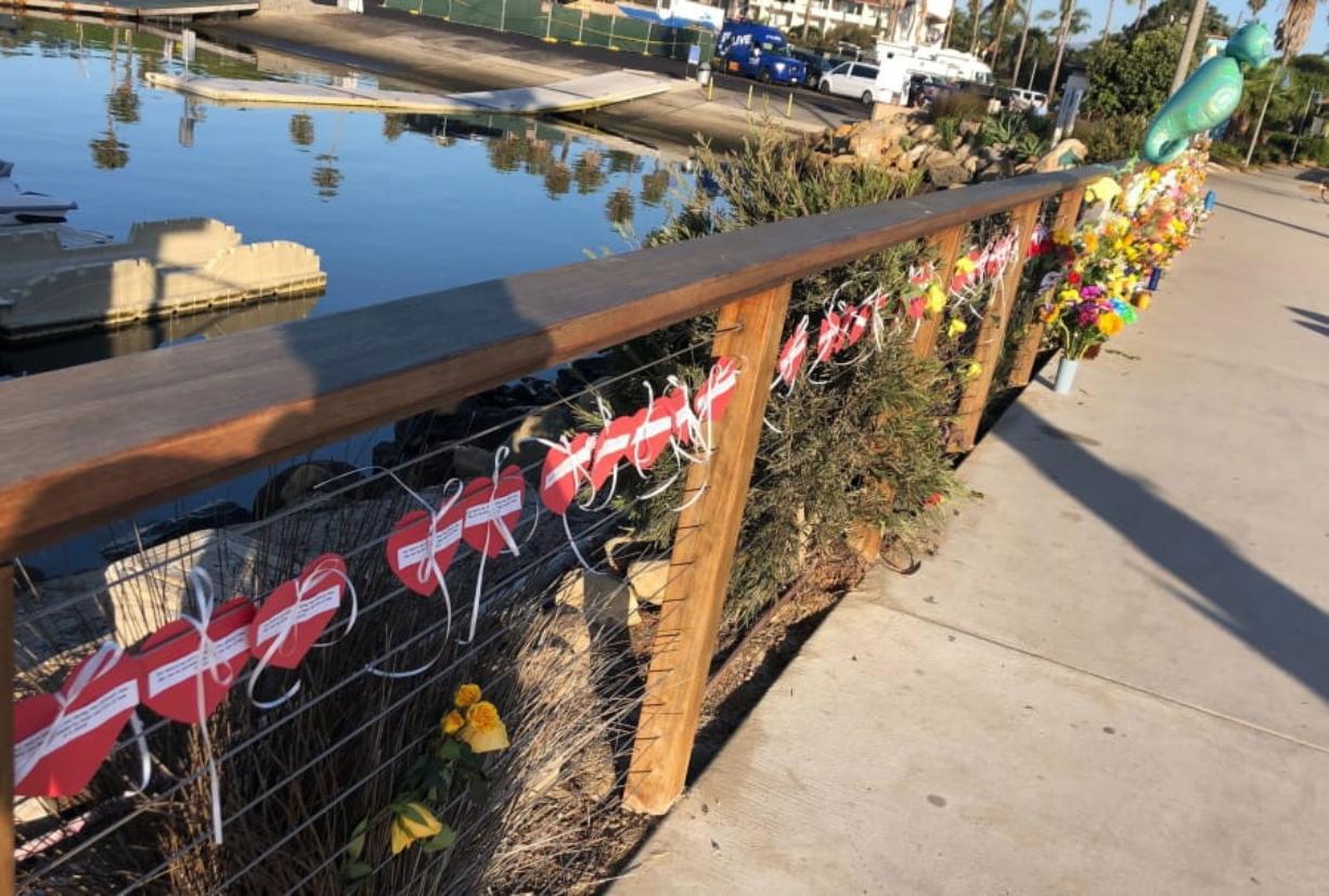 Veteran water polo coach among California boat fire victims