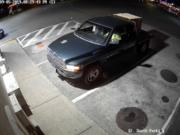 The Vancouver Police Department provided this photo in a news release about a fatal hit-and-run crash Thursday night at a parking lot in the 500 block of Southeast Chkalov Drive.