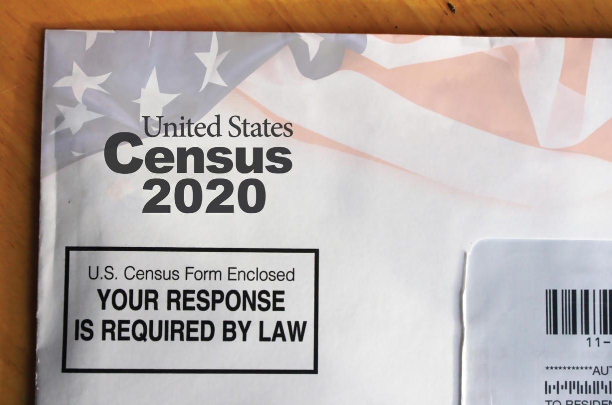 U.S. Census sample mail form for 2020 (iStock.com)