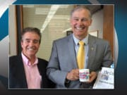"""Many politicians purchased """"Don't Do Stupid Stuff"""" mugs, including Gov. Jay Inslee."""