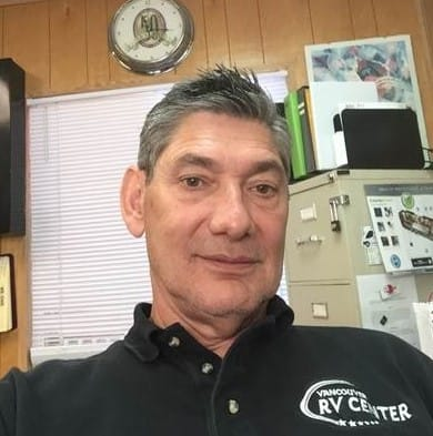 Tom Lewis, General Manager of Vancouver RV
