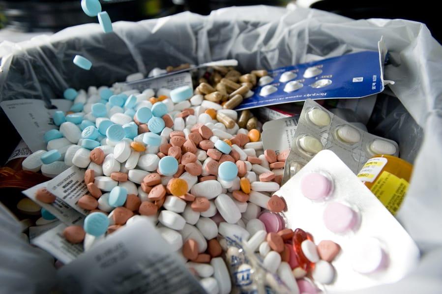 Drug takeback event planned for late October