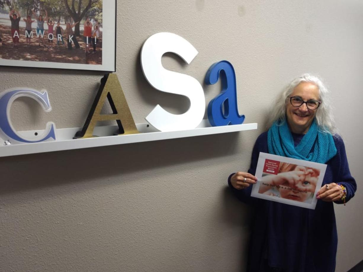 Jane Robinson has been a volunteer with YWCA Clark County's CASA program for over a decade.