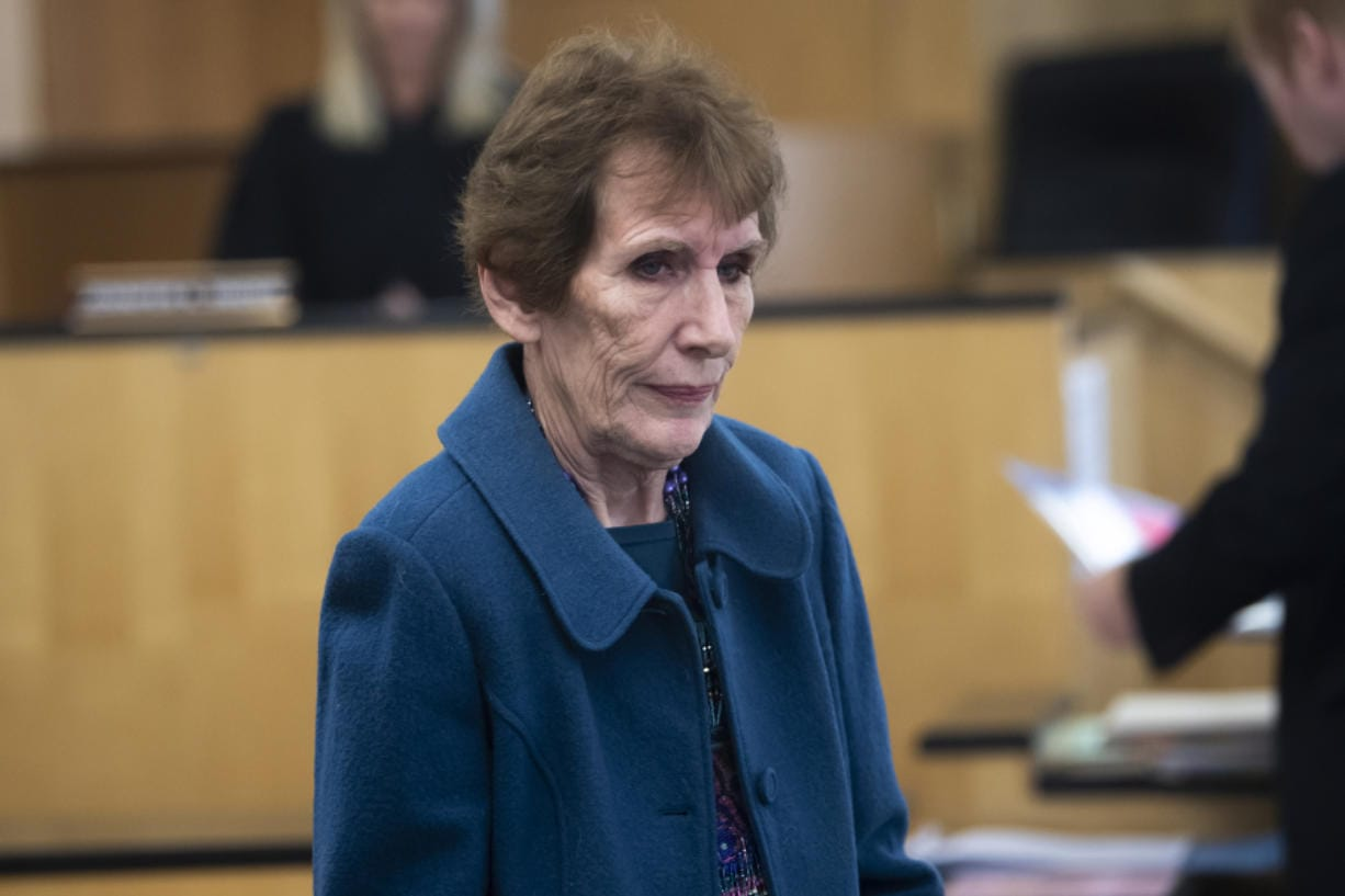 Former Vancouver attorney MarCine Miller Miles makes a first appearance Tuesday in Clark County Superior Court on suspicion of first-degree theft and first-degree identity theft. She is accused of stealing more than $5,000 from a former elderly client.