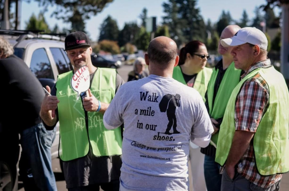 Harney Heights: The inaugural Walk A Mile in Our Shoes event was organized by local homeless advocates and featured speeches, as well as a 1.5-mile walk to show the lack of transportation options and bathrooms available to the homeless.
