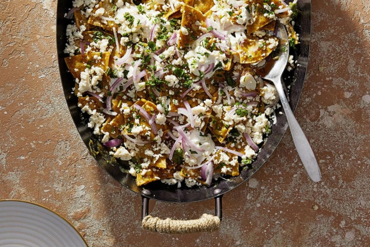 Green Chilaquiles (Photo for The Washington Post by Tom McCorkle)