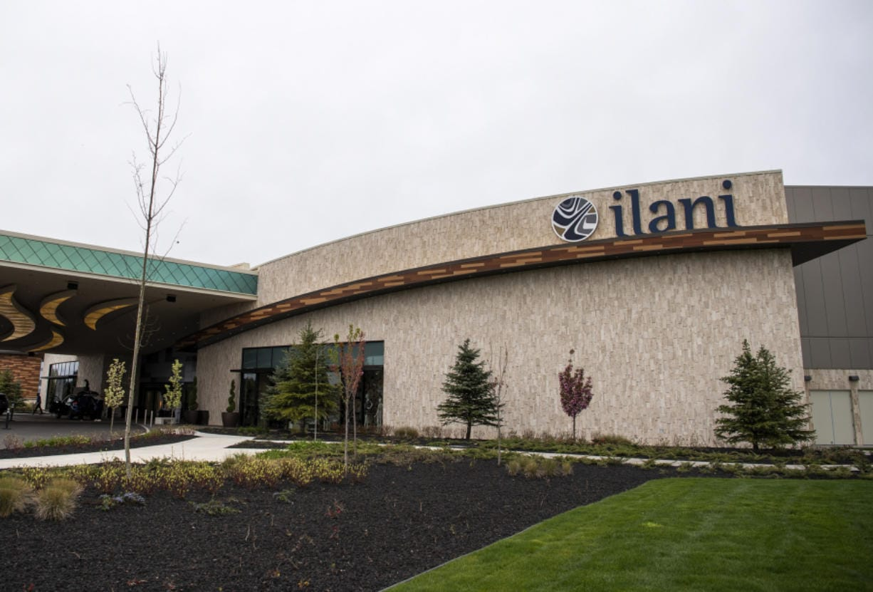 ilani casino near La Center. (Alisha Jucevic/The Columbian files)