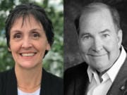 Cassi Marshall is challenging incumbent Bill Ward for his seat on the Port of Camas-Washougal board.