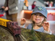 A model railroad is part of the permanent collection at the Washington State Historical Museum in Tacoma.