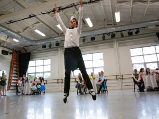 """Stanley brothers rehearse """"Petrushka"""""""