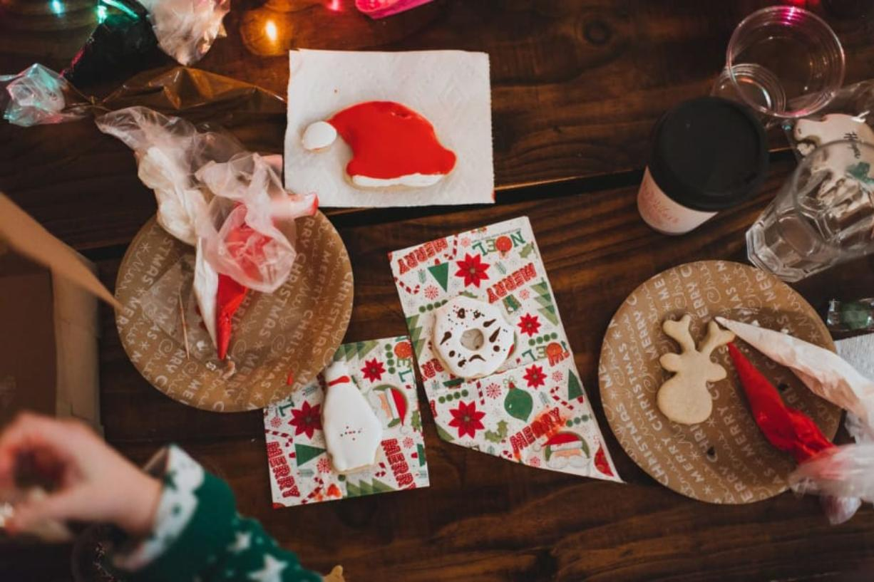 Sugar Spruce Baking Co. offers holiday cookie decorating workshops.