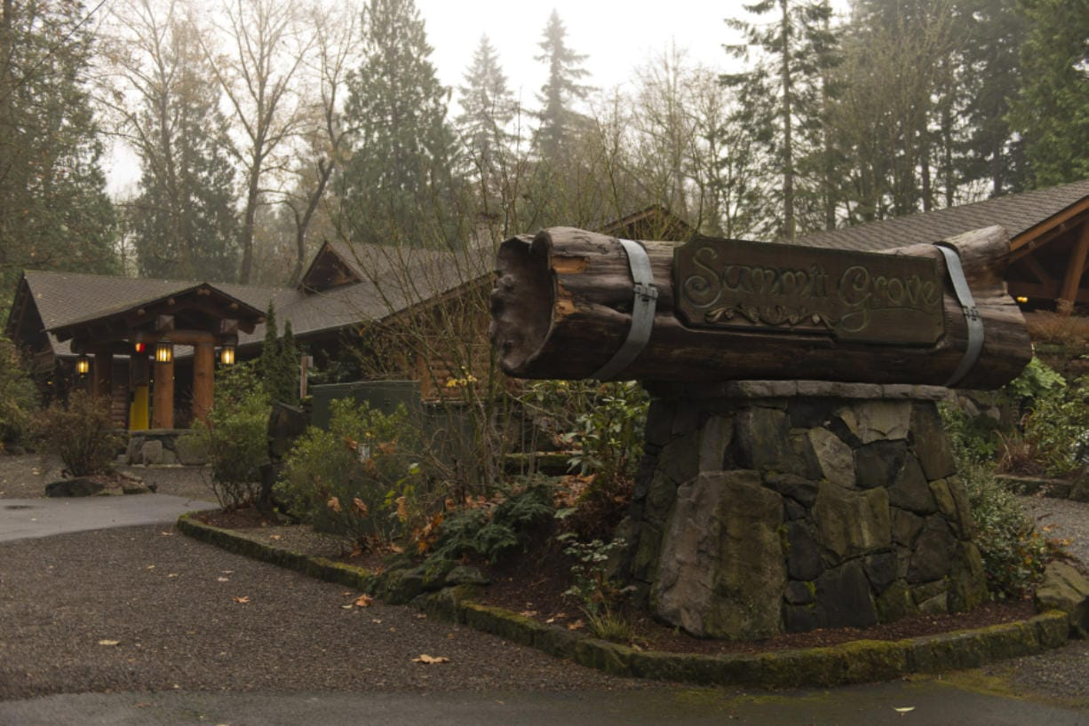 "The Summit Grove Lodge in Ridgefield has achieved a listing on the Washington Heritage Register. ""Some of the earliest histories in the Northwest took place here,"" said Brad Richardson, executive director of the Clark County Historical Museum. (James Rexroad for The Columbian)"