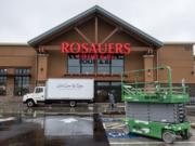 The region's fastest-growing city will have its first supermarket beginning Dec. 7. Rosauers, a Spokane-based chain, will open its store that morning in Ridgefield's new Discovery Ridge development.