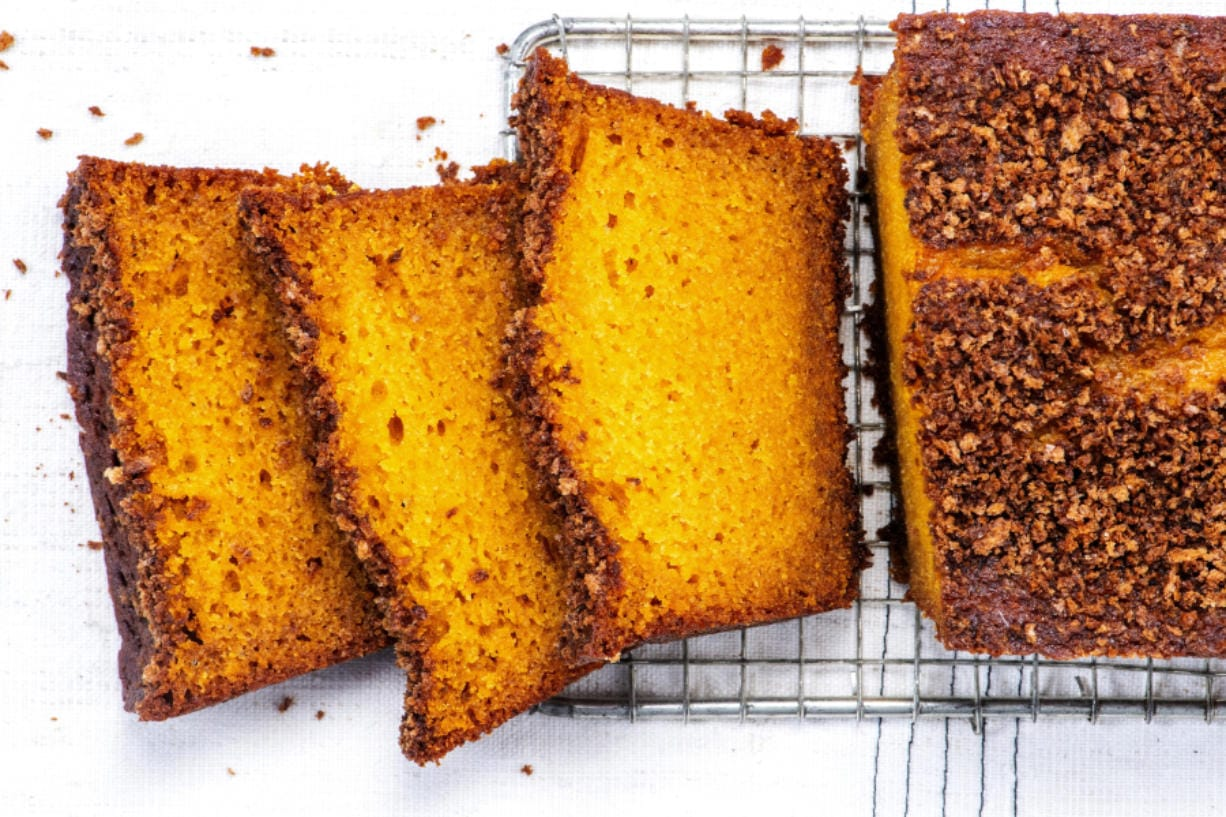 Roasted Pumpkin Loaves with Salted Breadcrumbs.