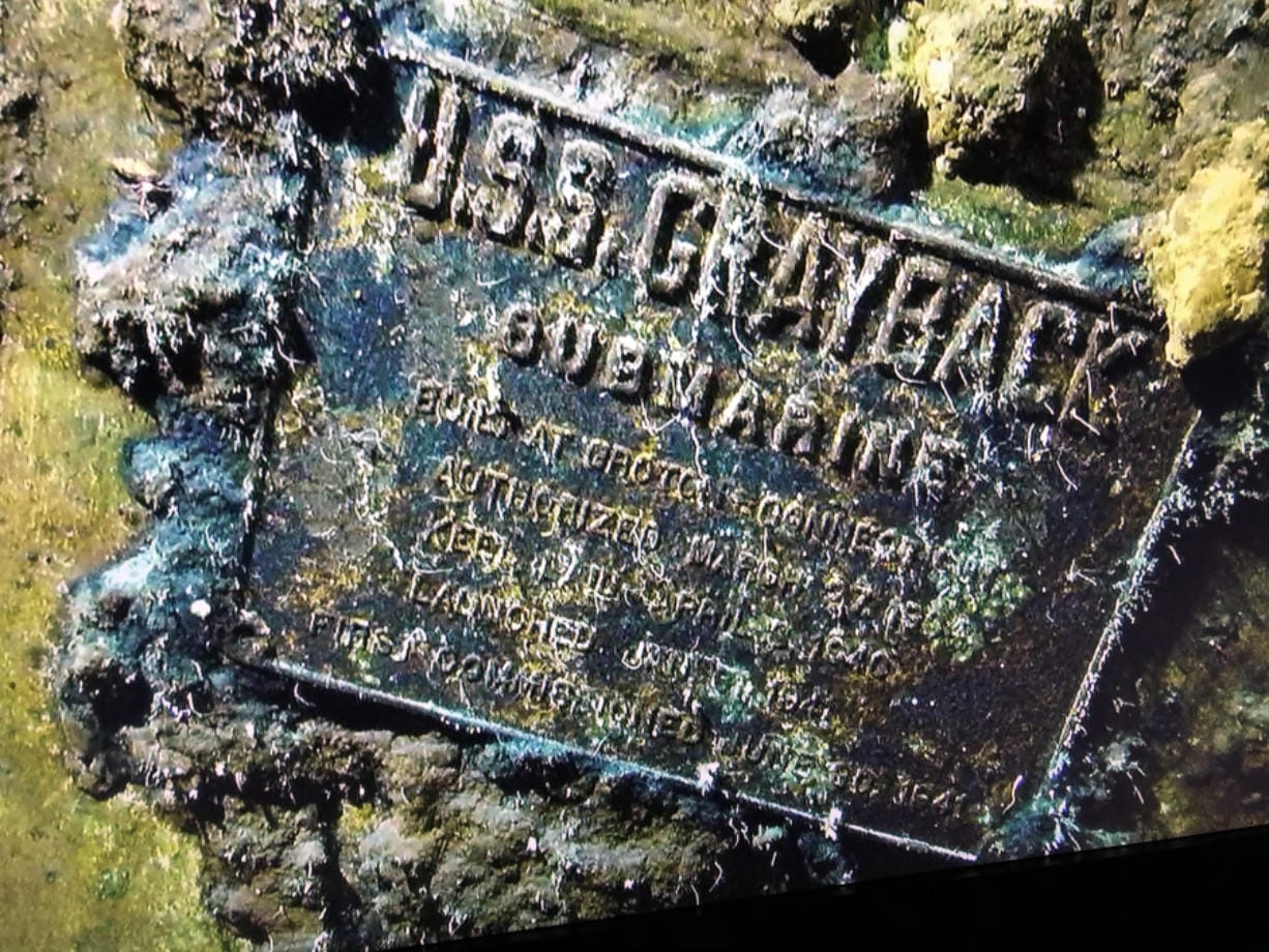 The USS Grayback was discovered off the coast of Japan in June by the Lost 52 Project, dedicated to finding all 52 U.S. submarines lost in action during World War II.