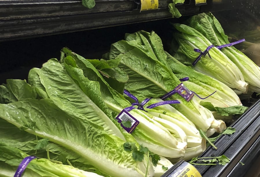U.S. health officials are telling people to avoid romaine lettuce grown in Salinas, Calif. (Associated Press files)