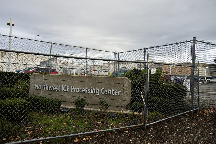 The Northwest Detention Center in Tacoma.