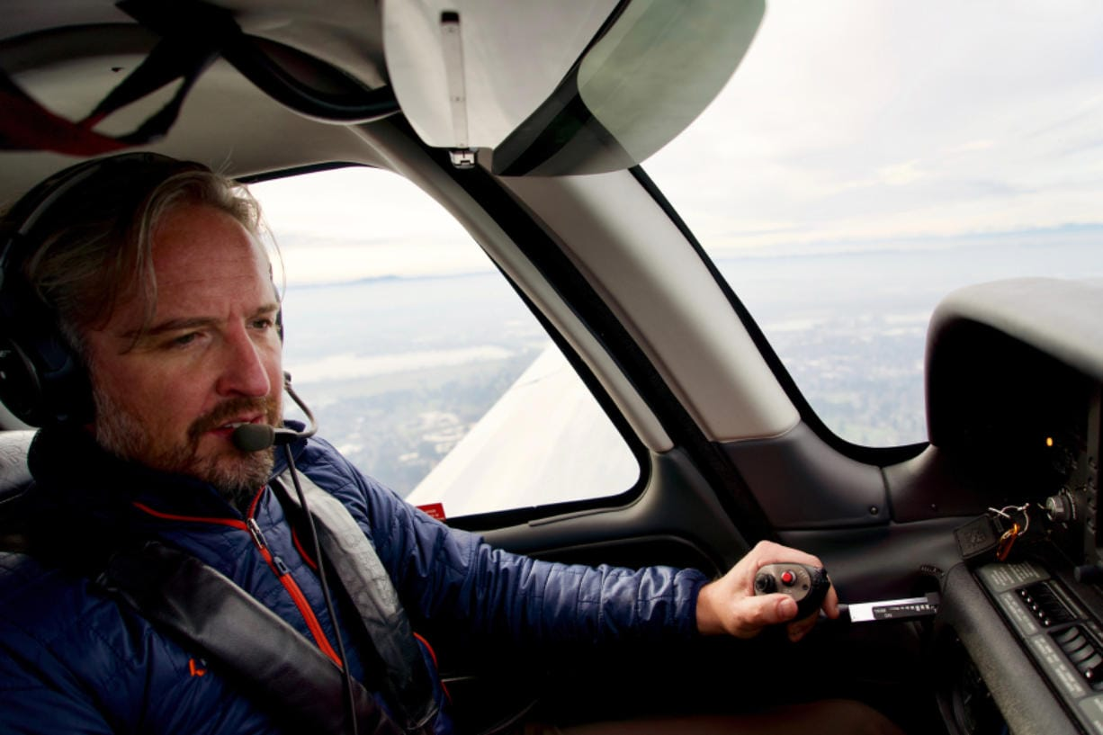 Jonathan Evans, CEO and co-founder of KinectAir, started the business to share his joy of flying small planes with people who can't afford private jet charters.